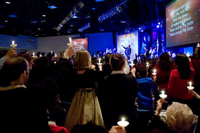 Christmas Eve service at ChangePoint.