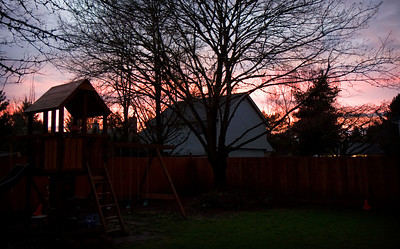 March 10, 2008  Beautiful sky this evening.
