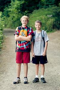 Friends going to Camp Tilikum! (Jacob Galbraith)
