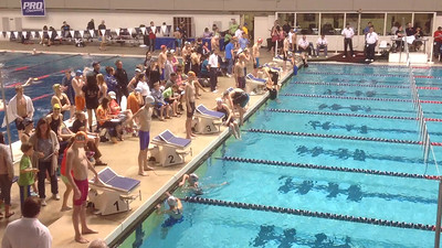 2015 NWAG Regionals 200 yd backstroke Lane 5