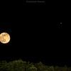 Full Moon and Jupiter Rising