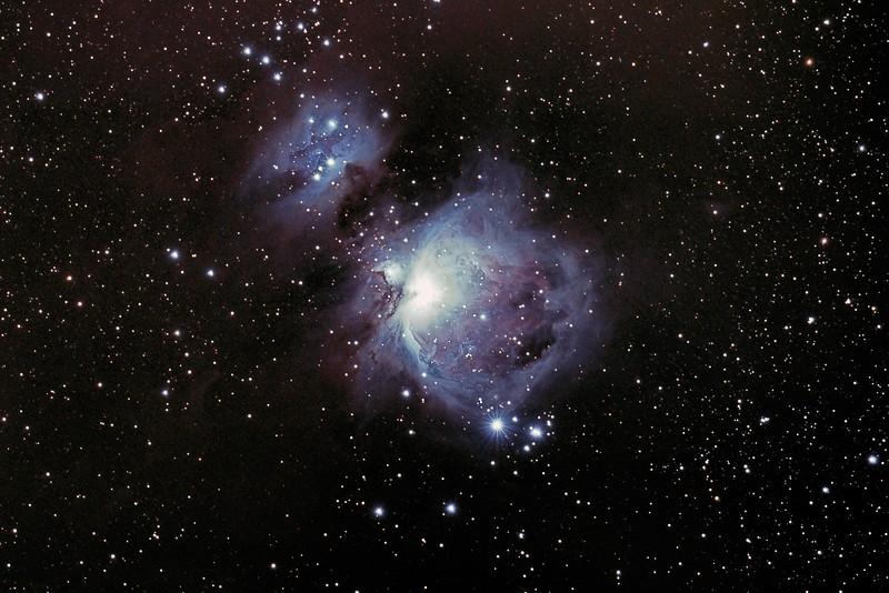 Orion and Running Man Nebula