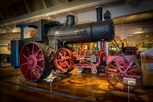 Farm Steam Engine from 1916 at The Henry Ford Museum