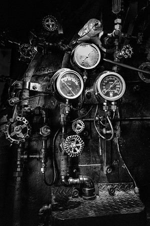 Engine Room of a 1941 Allegheny Steam Locomotive at The Henry Ford Museum
