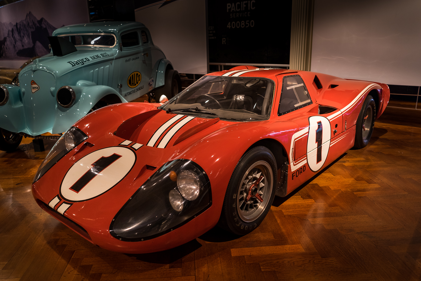 1967 Ford Mark IV Race Car at The Henry Ford Museum
