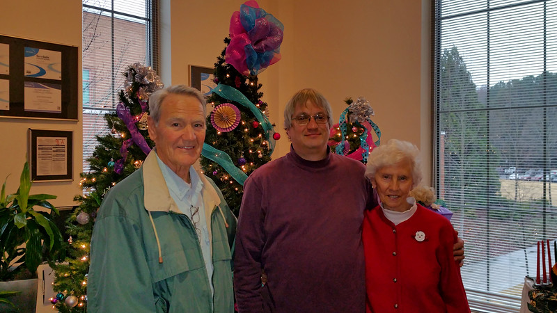 Had a great Christmas Brunch with Uncle Tom & Aunt Joan at UGA's Cook's Holiday.