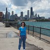 June 23:  The Chicago skyline as seen from Navy Pier.
