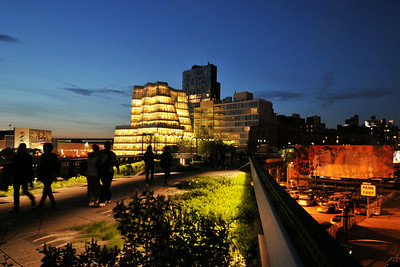 High Line Night Colors