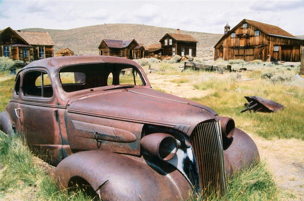 Bodie Coupe. Bodie State Park, California