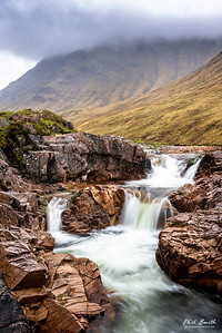 Waterfall on the River Etive.