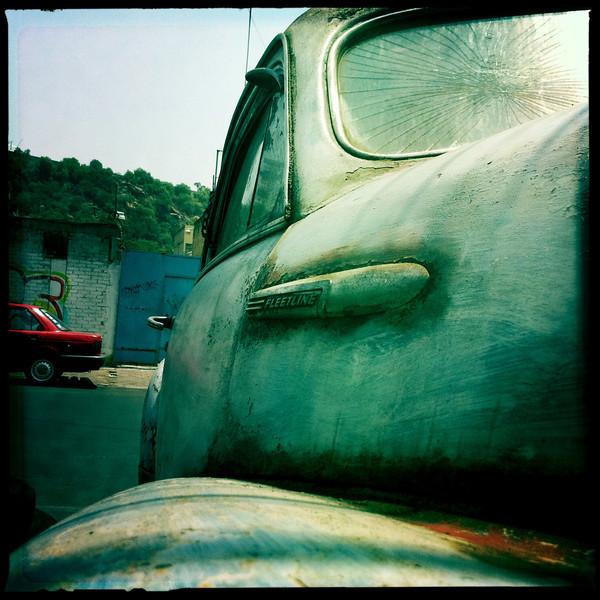 Fleetline3<br /> Old Chevrolet in a neighborhood near Mexico City's International Airport.