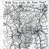 This 1960 article in the Charlotte Observer included a map illustrating the approximate location of Lake Norman.