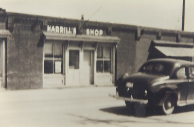 Harrill's Shop was a dime store.