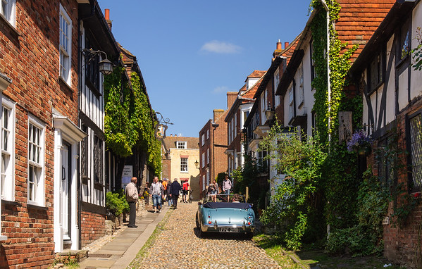 Old houses in Rye, East Sussex