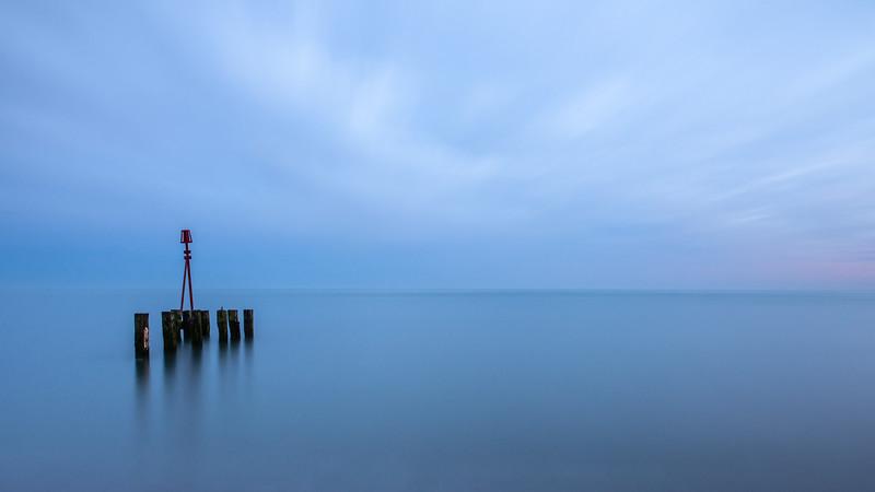 Beacon on Hastings Beach