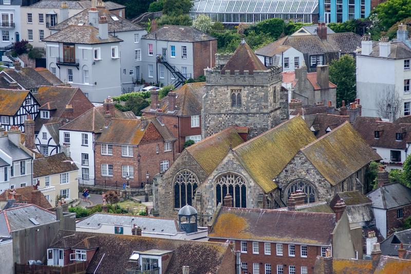 St Clement's Church in Hastings