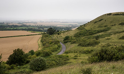 Ivinghoe Beacon in the Chiltern Hills