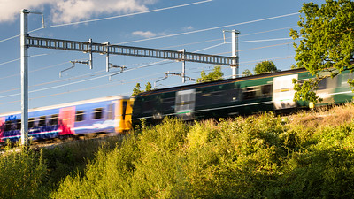 Thames Turbos under wires