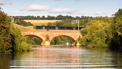Goring Bridge on the River Thames