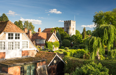 Goring village in the #Chilterns
