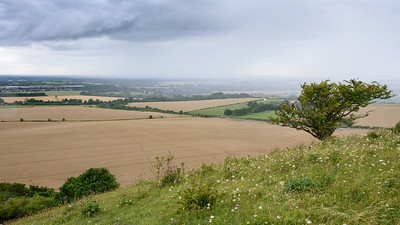 Aylesbury Vale rain storm