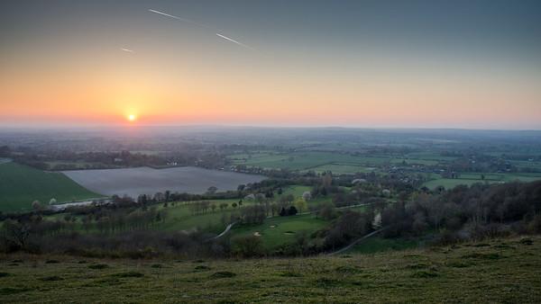 Aylesbury Vale sunset