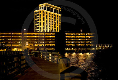 Side view of The Beau Rivage Casino in Biloxi, MS