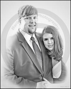 Jonathan and Nicolle at Whitney's Wedding April 09.
