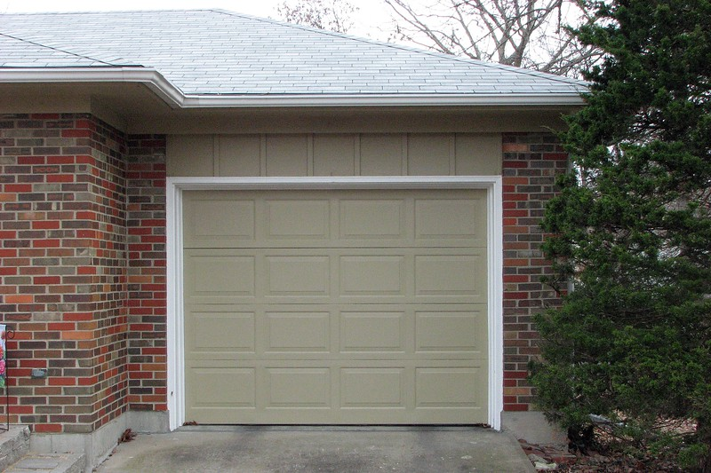"""The new color is called """"Prairie Dust,"""" and was applied to all of the non-brick surfaces."""