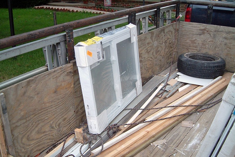Both were new vinyl replacement units that are designed and built to modern efficiency standards.