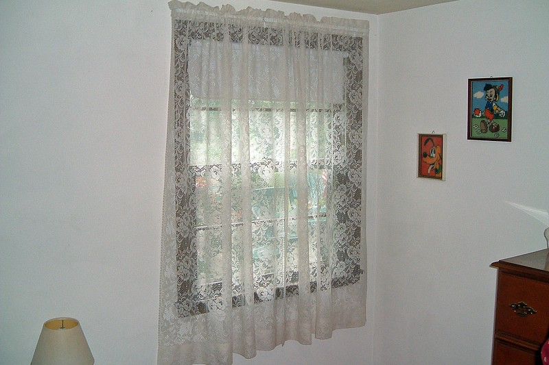 New curtains.