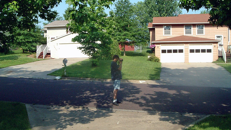 June 14, 2003:  I am eagerly awaiting the arrival of the moving van.  We haven't seen our stuff since Monday.