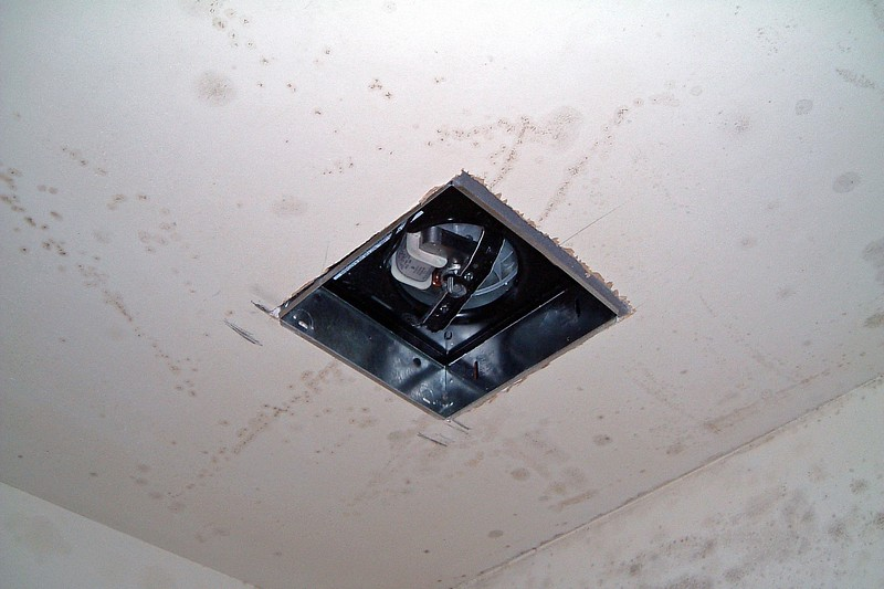 The new much-needed exhaust fan.