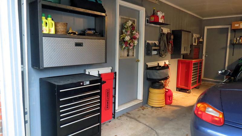 My garage storage upgrades are complete.