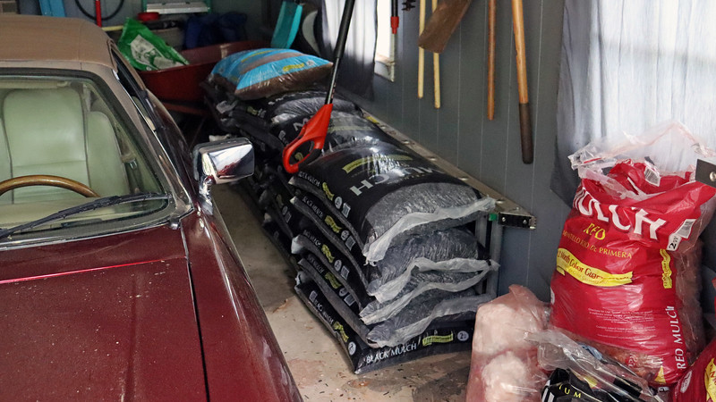 I bought what should be my last large batch of mulch.