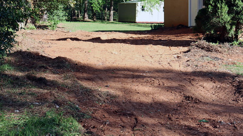 """I heard this project before I saw it taking place.  The sounds of """"construction"""" got my attention at 8 AM earlier this week, and this is why.  The existing driveway was showing some cracks, but didn't look too bad to me."""
