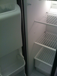 Inside of Freezer.  Photo Taken with SmugShot on my iPhone.