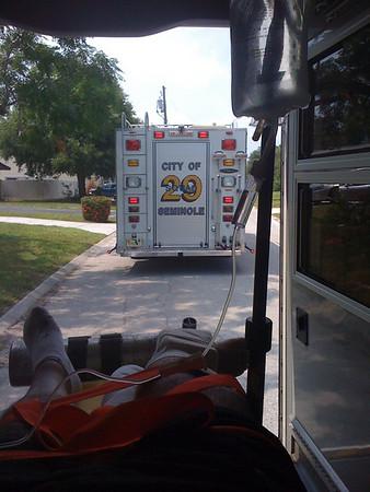2009 06 24b - Ride to ER