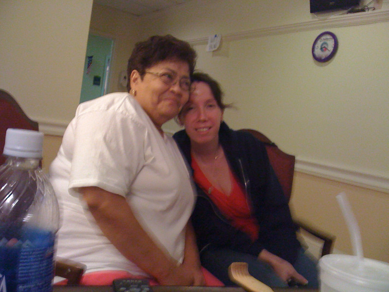 Mom and Michele