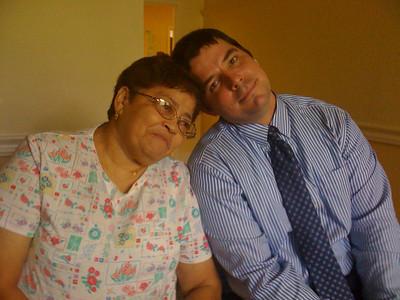 2009 07 06 - Mom and Jon