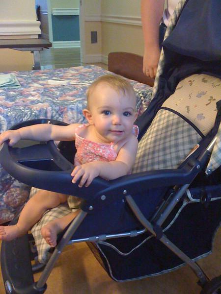2009 07 05 - Lillie visits