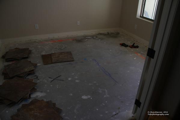 Tile flooring job 1 11-2011