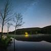 Nighttime on Rudd Pond