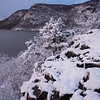 Late Season Snowfall at Little Stony Point