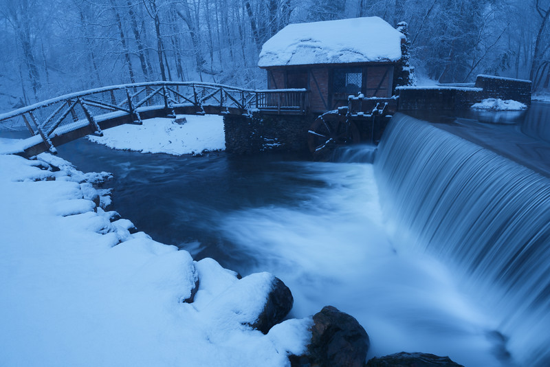 Gomez Mill in Winter