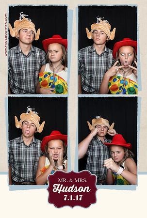 The Hudson wedding 7.1.17