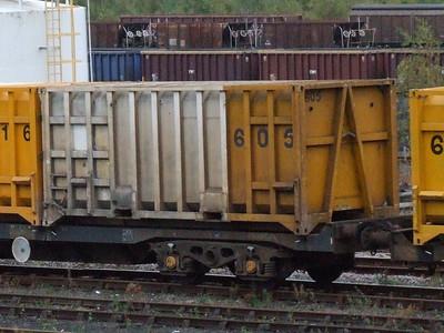 Non-BIC bulk containers (Waste, Coal, Gypsum)