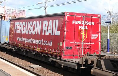 Ferguson Rail liveried swapbody - Tom Smith image used with permission