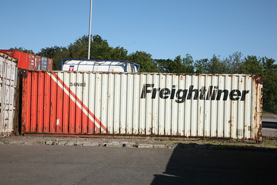 An old Freightliner 30' box, numbered 56N82 - Tom Smith image used with permission
