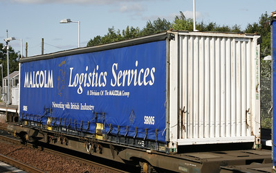 Malcolm Logistics Services swapbody SB005 - Tom Smith image used with permission